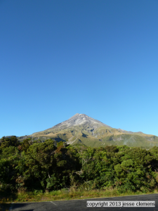 The view from below Taranaki